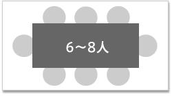 6-8人用